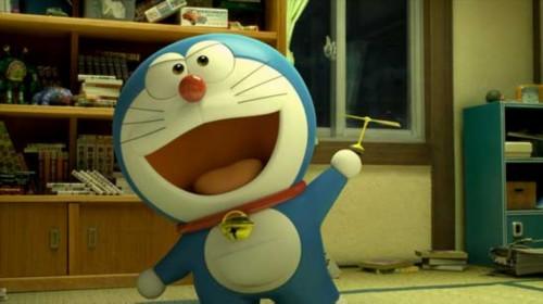 感动亿万观众的动画电影《哆啦a梦:伴我同行》今天上映,3d蓝胖子来了