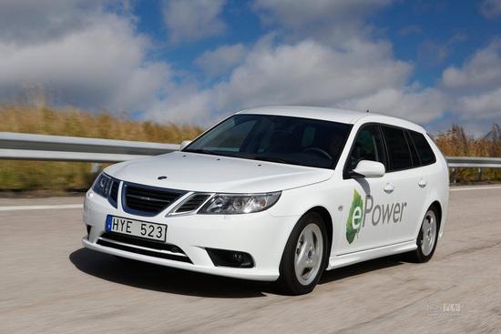 将于天津市落户 萨博变身电动车国内投产 高清图片