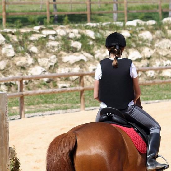 马术装备应该推荐:第一次骑马到底入门穿冲浪板排气孔图片