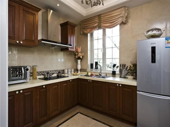 富力尚悦居-三居室-112.00平米-厨房装修效果图