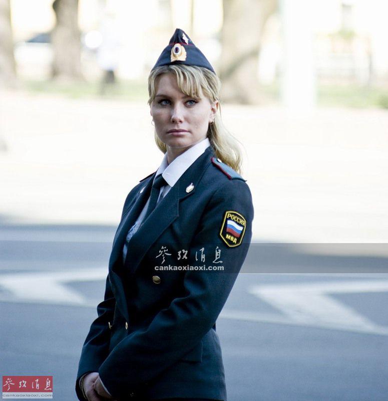 俄罗斯女警.-台湾最美女警走红 盘点全球各国的漂亮警花图片频道