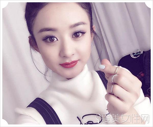 赵丽颖恋情曝光 看她与辣妈杨幂的美颜pk
