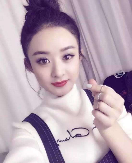 萌萌哒赵丽颖可爱 图片大全