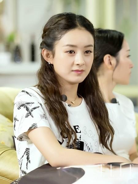 霸屏女王赵丽颖最爱的小公举发_装扮_时尚_