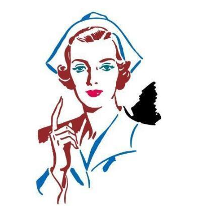 据记录是19世纪的南丁格尔,她佩戴的帽子后来成为护士的标志.