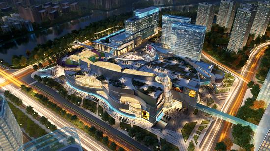 集团商业在杭州乐堤港项目广告应用WELLa集团远洋设计师的职位分析图片