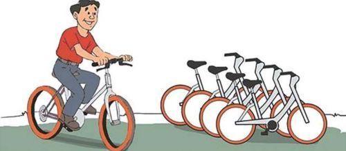 """""""陈佳楠帮妈妈注册了某共享单车账号, """"交了押金才能使用,等妈妈离开"""