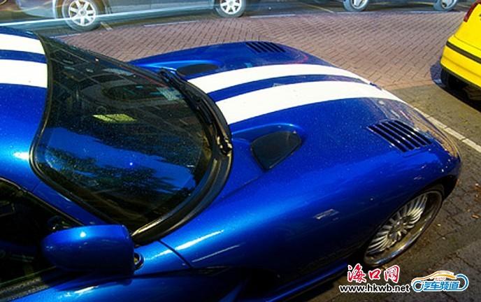 速度猛兽 街拍蓝色蝰蛇gts汽车频道高清图片