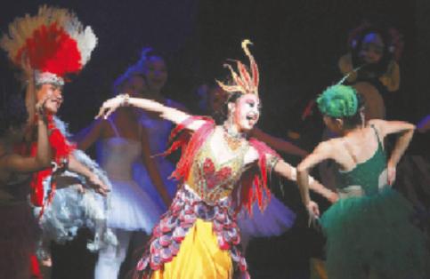 音乐剧《火凤凰》在海南省歌舞剧院献演