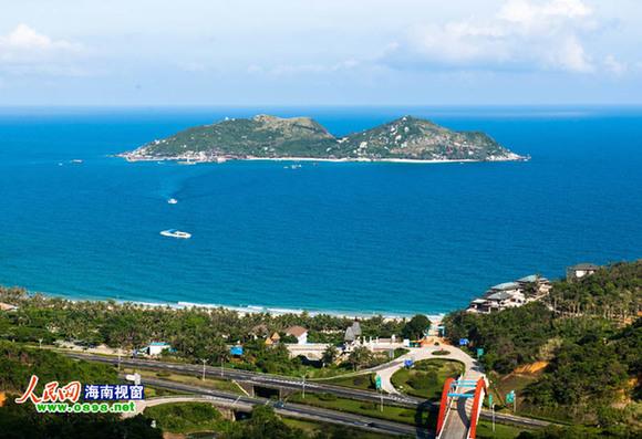 分界洲岛是海南省最早开发开放的无人居住