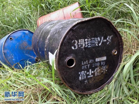油桶diy花瓶图片