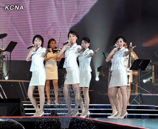 平壤style:朝鲜牡丹峰乐团由金正恩亲自挑选 街头有了