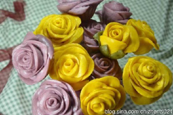 花朵花卷的做法大全图解