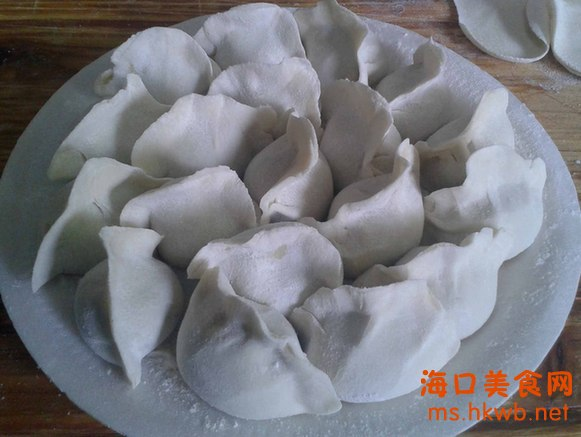 鱼饺子的包法步骤图解