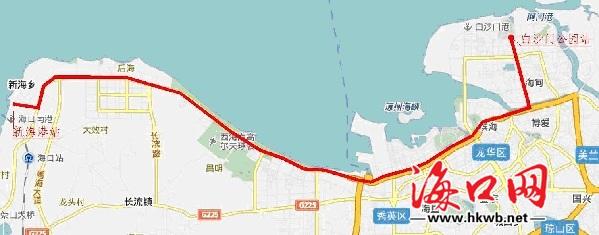 海口有轨电车一号线起点终点站公布 享有优先路权