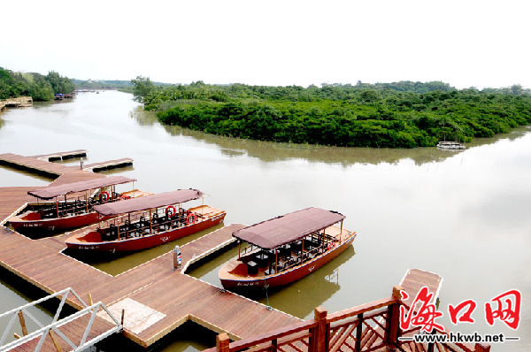 海口东寨港红树林景区
