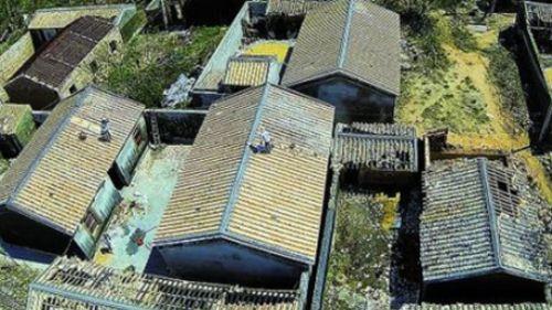 农村瓦房屋顶结构图