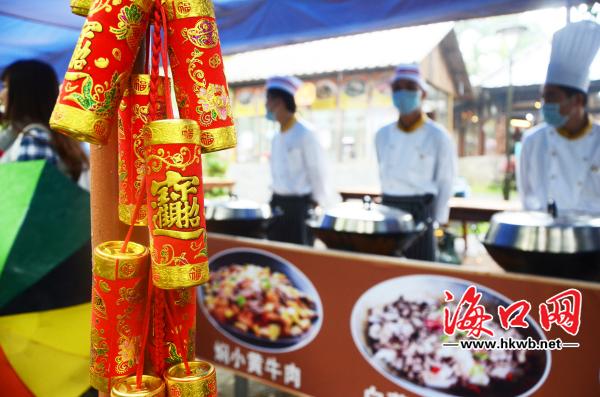 海南a羊肠节倡导健康生活羊肠火山口免费畅享做法游客美食图片