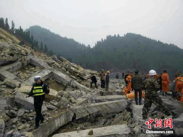 贵州习水一高速隧道因山体滑坡垮塌 3人遇难