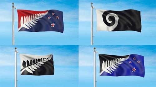 新西兰政府破例将第五幅国旗设计图加入候选方案