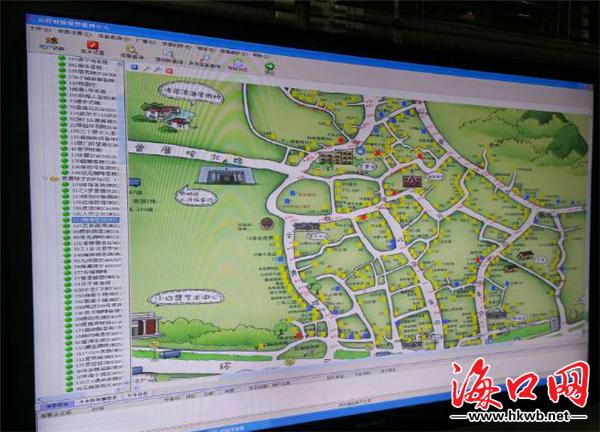 """这张手绘地图不仅呈现了该村""""五街十八巷""""的整体脉络,还详细地标注了"""