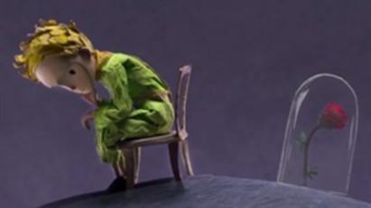 《小王子》情感版预告海报 展现小王子与玫瑰的情感羁绊