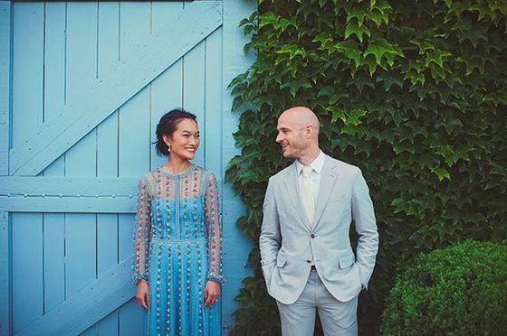 色彩亮片or刺绣 让你的婚纱变得独一无二