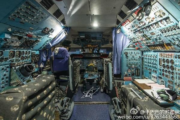 走进世界最大飞机安225:驾驶舱内可看夜景(组图)