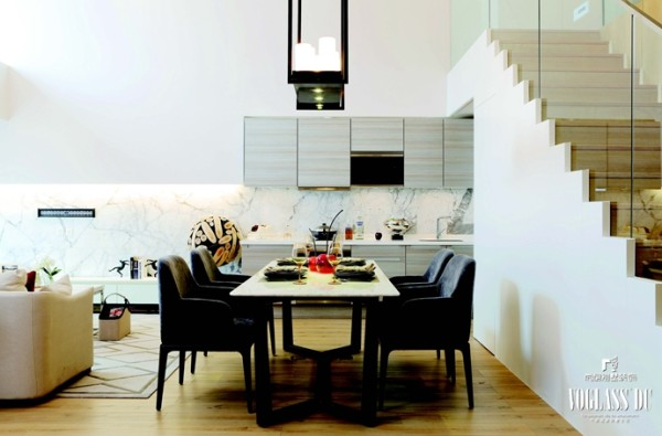 简约 别墅 别墅设计 餐厅图片来自别墅装修尚层装饰王丽在时尚新贵之家的分享