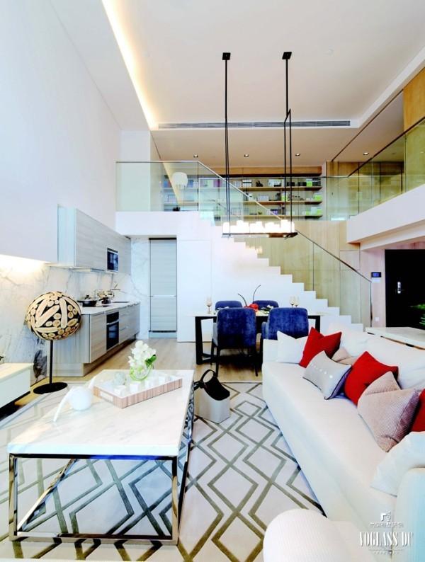简约 别墅 别墅设计 客厅图片来自别墅装修尚层装饰王丽在时尚新贵之家的分享