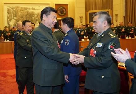 习近平出席十二届全国人大四次会议解放军 ...