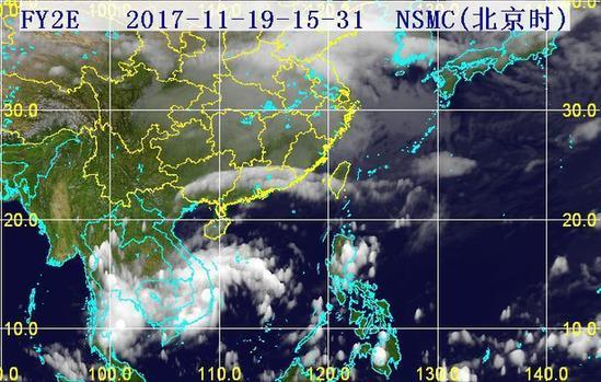 31分三维红外卫星云图.(图片来源:海南省气象局)-鸿雁 已登陆图片