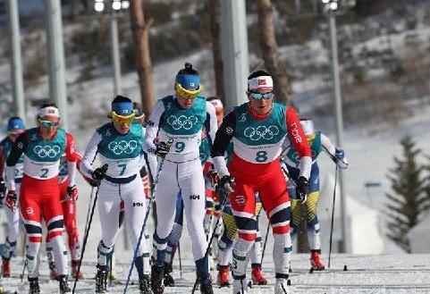 (冬奥会)(2)越野滑雪——女子30公里集体出发(传统技术)比赛赛况