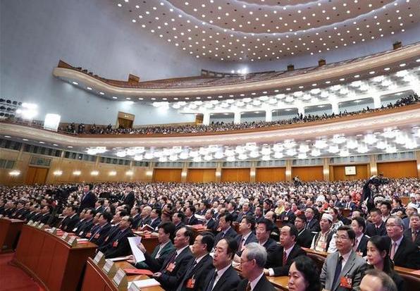 (两会)(1)十三届全国人大一次会议在北京闭幕