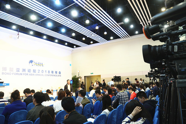 直击博鳌现场:全球240多家媒体2000名记者赴盛会(组图)