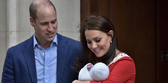 (国际)(6)英国凯特王妃诞下第三胎
