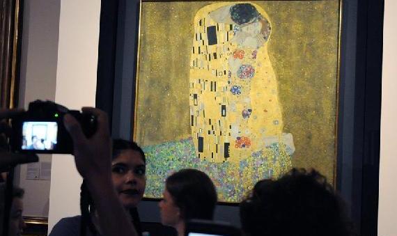 (XHDW)(1)奥地利国家美术馆举行免费开放日活动