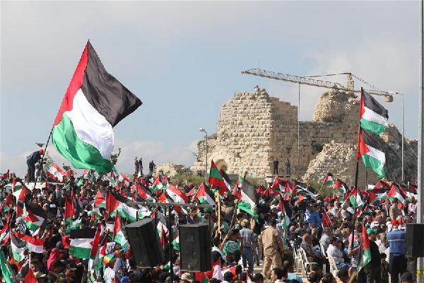 """(XHDW)(1)在黎巴勒斯坦难民纪念""""灾难日"""""""