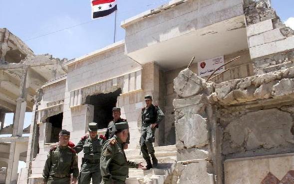 (国际)(2)叙利亚政府全面收复中部省份霍姆斯