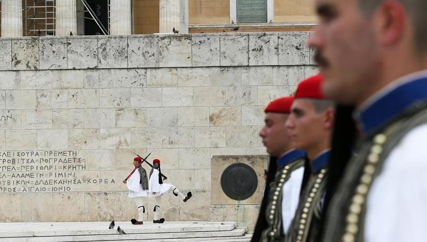 (国际)(3)总统卫队——雅典市中心的独特风景