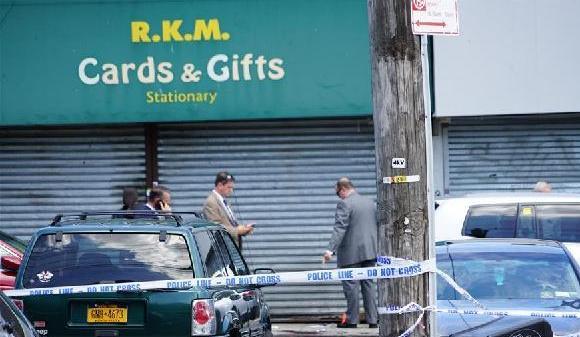 (国际)(1)美国纽约发生枪击案致3人死亡