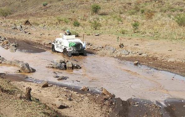(国际·图文互动)(1)中国赴苏丹达尔富尔维和工兵分队圆满完成道路勘察任务