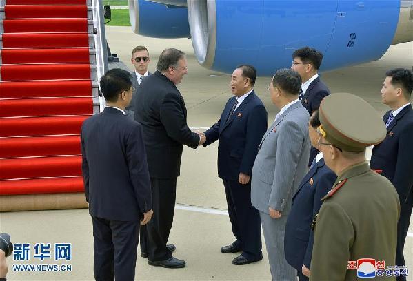 """(国际)朝鲜对蓬佩奥访朝会谈结果表示""""忧虑"""" 美方称会谈取得""""进展"""""""