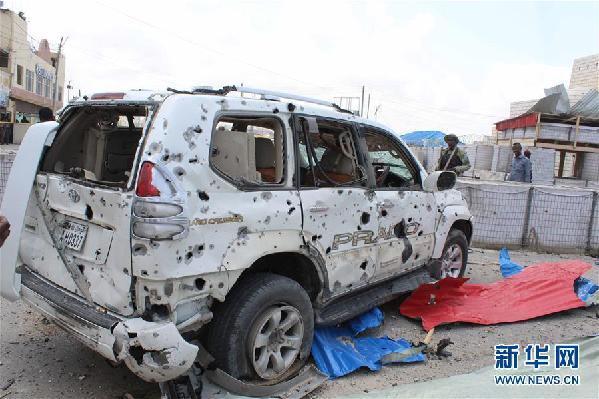 (国际)(1)索马里首都发生两起袭击 至少12人死亡
