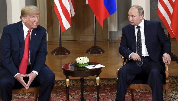 (国际)(3)特朗普和普京在芬兰举行首次正式会晤