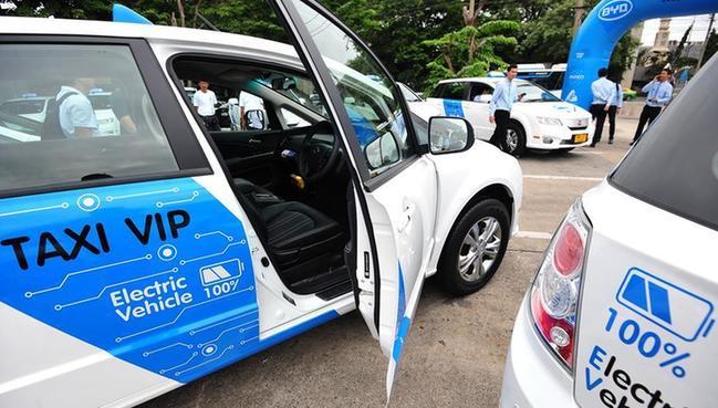 (国际)(2)百余辆中国新能源汽车将在泰国投入运营