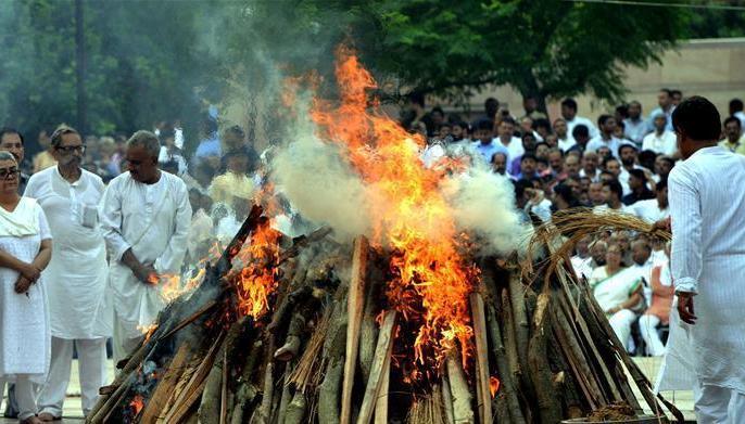 (国际)(3)印度为前总理瓦杰帕伊举行国葬