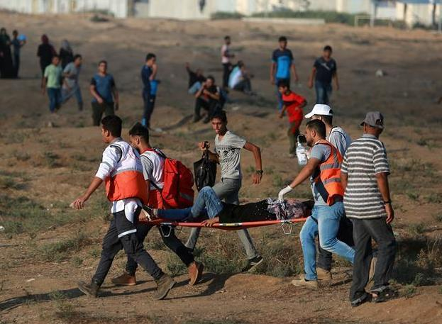 (国际)(3)加沙地带边境发生冲突 以军开枪打死两名巴勒斯坦人