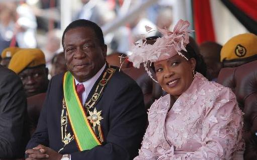 (国际)(1)姆南加古瓦宣誓连任津巴布韦总统