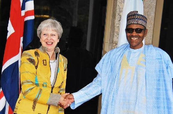 (国际)(1)英国首相说愿加强与尼日利亚经贸和安全合作